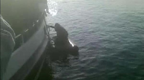 Denize Atlayan Genç Kurtarildi