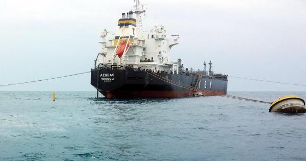 Denize Kirleten Tankere Ceza