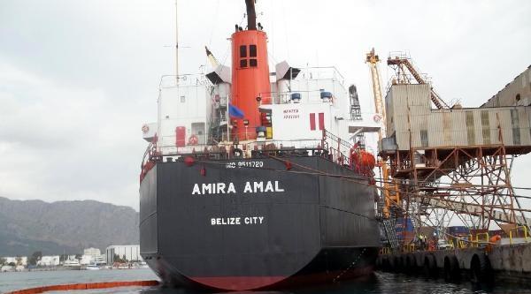 Denizi Kirleten Gemiye 81 Bin Lira Ceza