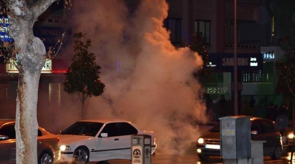 Denizli'de Berkin Elvan Protestosuna Polis Müdahalesi