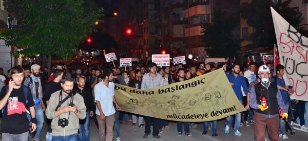 Denizli'de Gezi'nin Yıldönümünde Olaysız Yürüyüş
