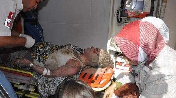 Denizli'de Patlama; 1 Ölü, 3'ü Ağır 20 Yaralı (2)
