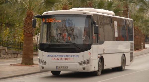 Denizli'De 'toplu Taşima' Tartişmasi