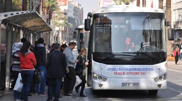 Denizli'De Ulaşim Belediyeye Emanet