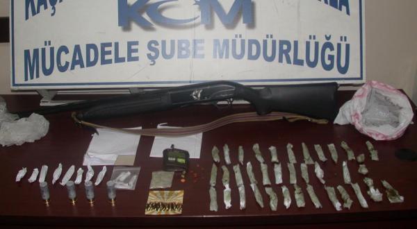 Denizli'de Uyuşturucu Operasyonuna 5 Tutuklama