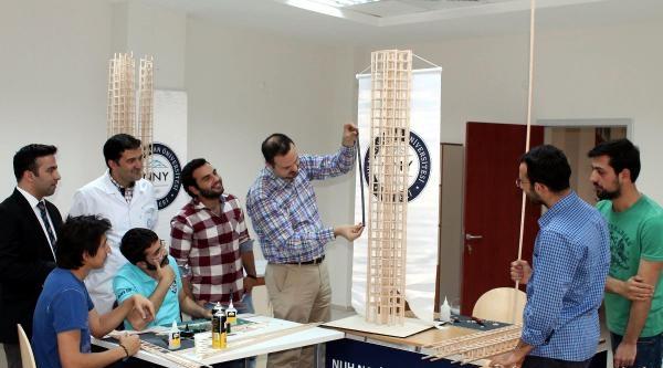 Depreme Dayanıklı Bina Tasarımı Yarışmasına Nnyü 2 Ekiple Katılıyor