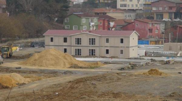 Derbent'Te Sosyal Konutlarla Lüks Daireleri Yeşil Alanlar Ayiracak