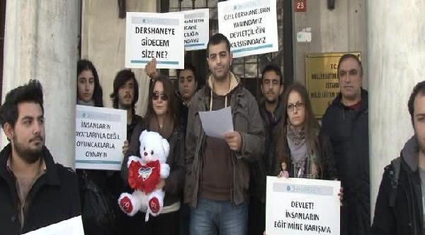 Dersane Düzenlemesine Oyuncakli Protesto