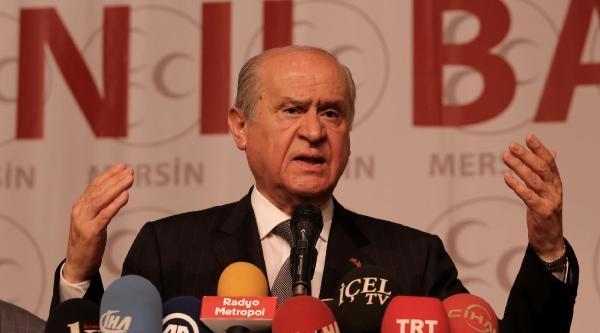 Devlet Bahçeli: Erdoğan, Senin Etnik Temelin Karışık