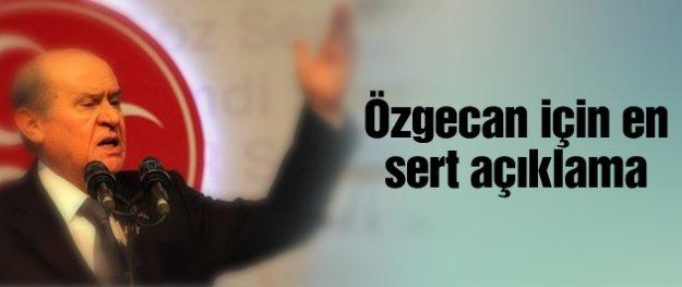Devlet Bahçeli'den öfke dolu Özgecan Aslan açıklaması