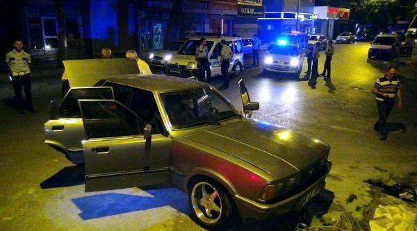 Devriye Gezen Polislere Av Tüfekli Saldırı