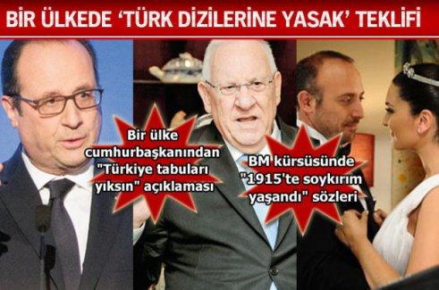 DİASPORA'NIN DERDİ 3 ÜLKEYİ GERDİ!