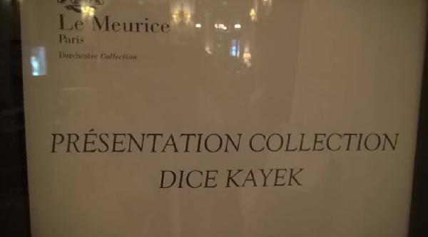Dice Kayek 'blue' Koleksiyonunu Tanıttı