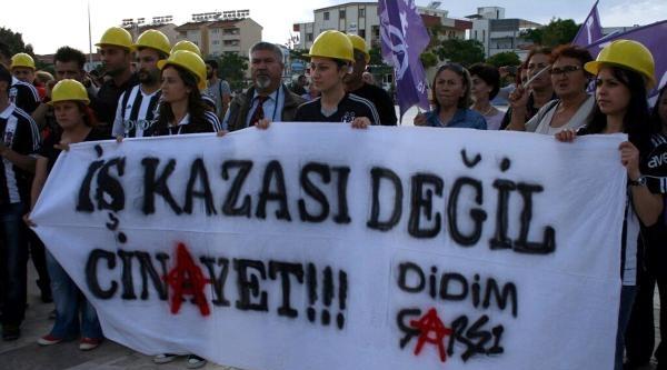 Didim'de Soma Protestosu Yapanlara Soruşturma