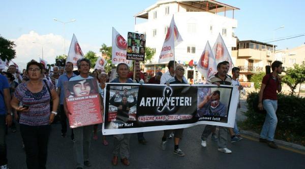 Didim'de Uğur Kurt Protestosu