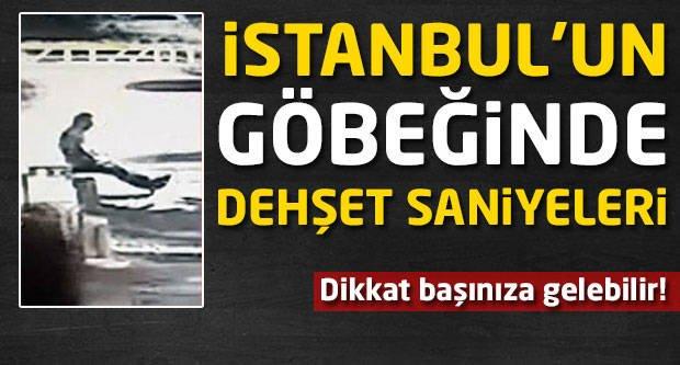 Dikkat başınıza gelebilir! İstanbul'un göbeğinde dehşet saniyeleri!