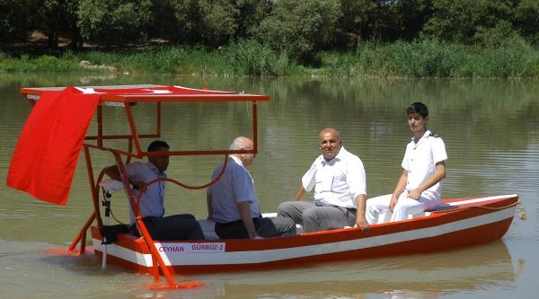 Diplomalarını Ceyhan Nehri Üzerinde Aldılar
