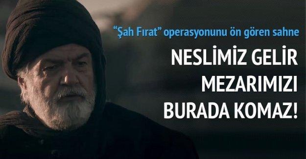 Diriliş'te Süleyman Şah operasyonunu öngören sahne