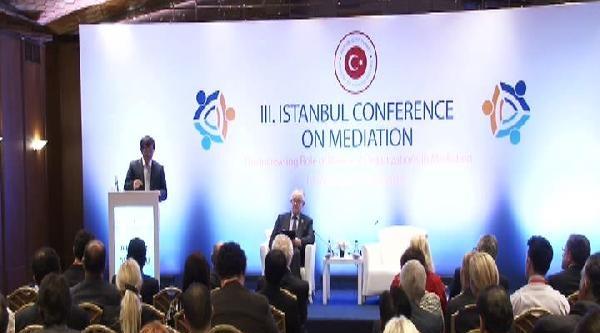 Dışişleri Bakanı Davutoğlu, 3. İstanbul Arabulucuk Konferansı'nda Konuştu