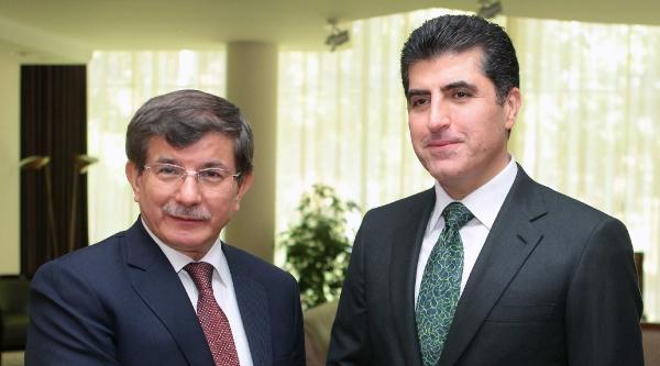 Dışişleri Bakanı Davutoğlu, Barzani İle Görüştü