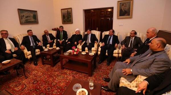 Dişişleri Bakani Davutoğlu, Irak Ziyaretinden Fotoğraflar Paylaşti