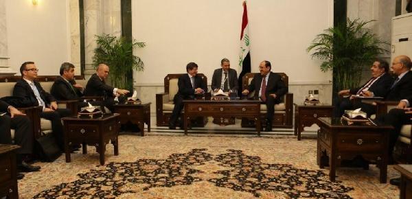 Dişişleri Bakani Davutoğlu Irak'Ta (2)