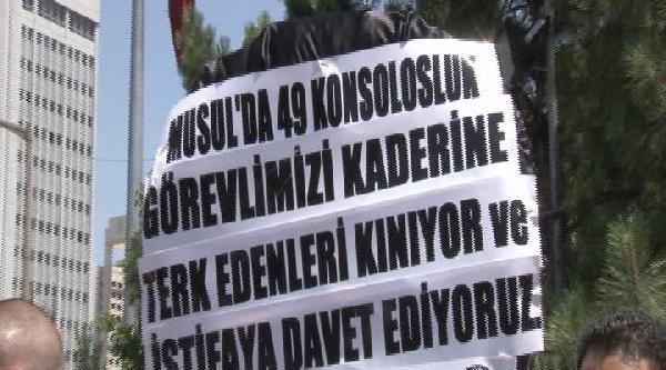 Dışişleri Bakanlığı Önünde Sessiz Eylem