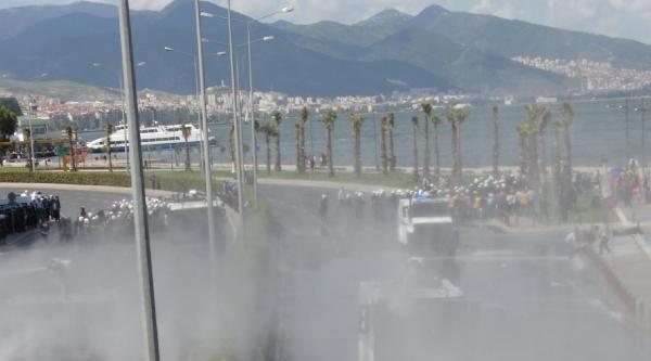 Disk Genel Başkanı Beko, Polisin Biber Gazından Hastanelik Oldu