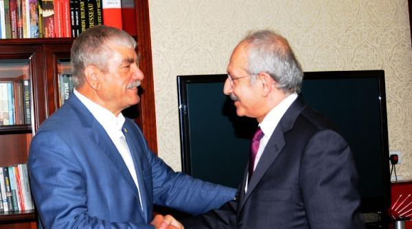 Disk Genel Başkanı, Kılıçdaroğlu'nu Ziyaret Etti
