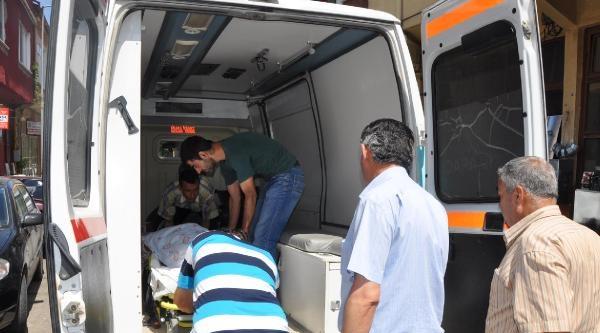 Diyalize, Minibüs Bagajında Taşınıyor (2)