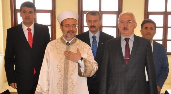 Diyanet İşleri Başkanı Görmez Sivas'ta