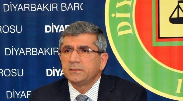 Diyarbakır Baro Başkanı Elçi: Tahliye Talebini Reddeden Mahkeme Suç İşledi