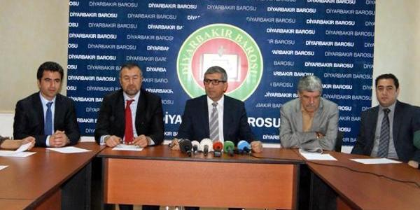 Diyarbakir Barosu'ndan Iran'daki Idamlara Tepki