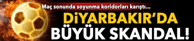 Diyarbakır Büyükşehir Belediyespor- Galatasaray maçında skandal üstüne skandal