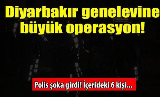 Diyarbakır genelevine büyük operasyon