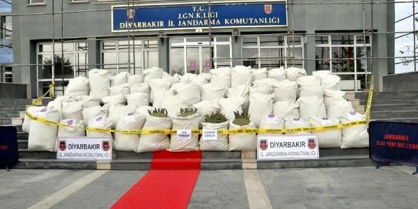Diyarbakir Valisi Kiraç: Bu Yil 100 Ton Uyuşturucu Ele Geçirildi