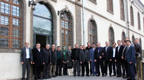 Diyarbakır Ve Düzce Tso'larından Kardeşlik Mesajı