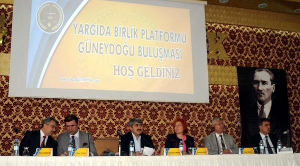 Diyarbakır'da 500 Hakim Ve Savcıyla Yargı Zirvesi