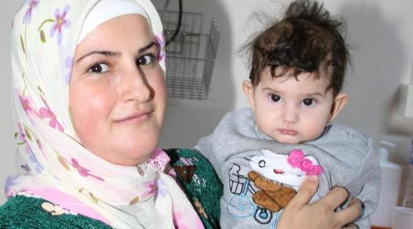 Diyarbakir'da 5 Aylik Bebeğe Böbrek Taşi Ameliyati