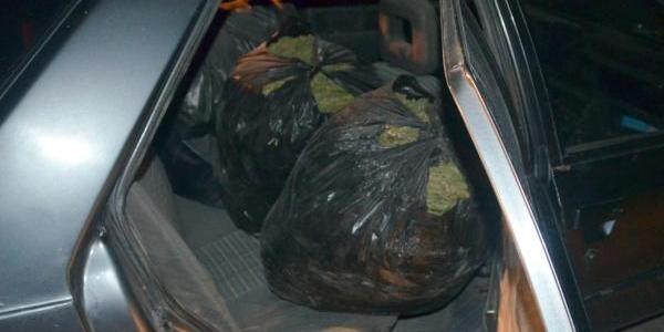 Diyarbakir'da 61 Kilo Esrar Ele Geçirildi