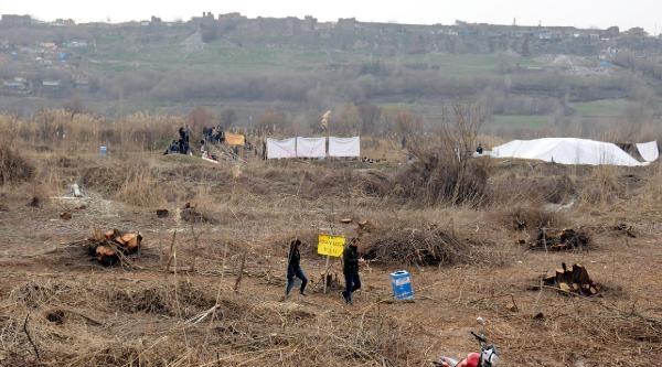 Diyarbakır'da, Ağaç Katliamına Karşı Gezi Benzeri Eylem