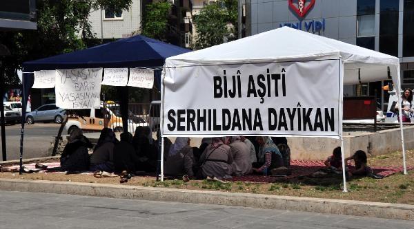 Diyarbakır'da Aileler Açlık Grevine Son Verdi