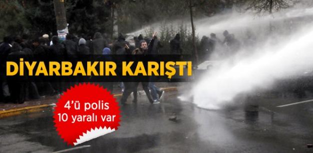 Diyarbakır'da bombalı saldırı: 4'ü polis çok sayıda Yaralı Var!