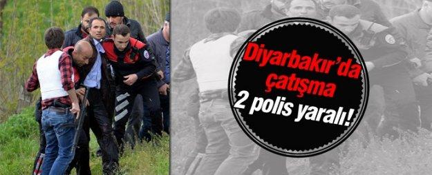 Diyarbakır'da çatışma çıktı: 2 polis yaralı