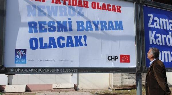 Diyarbakir'da Chp'den Demokratikleşme Paketi Ile 'newroz' Açilimi