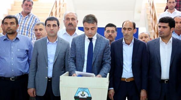 Diyarbakır'da Çiftçiler Elektrik Borcuna Destek Verilmemesini Tepki Gösterdi