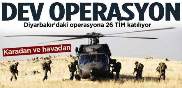 Diyarbakır'da dev operasyon !