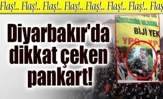 Diyarbakır'da dikkat çeken pankart!