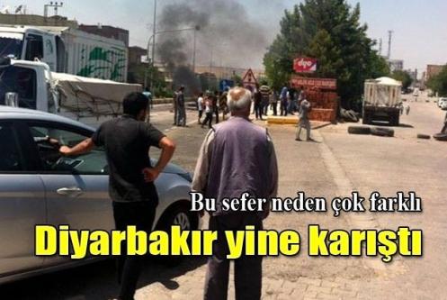 Diyarbakır'da elektrik isyanı