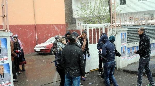 Diyarbakır'da Kar Sürprizi